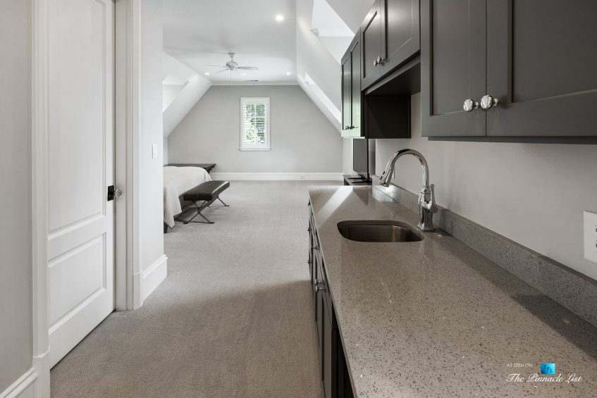 1150 W Garmon Rd, Atlanta, GA, USA - Loft Bedroom Suite Mini Kitchen Station - Luxury Real Estate - Buckhead Estate Home