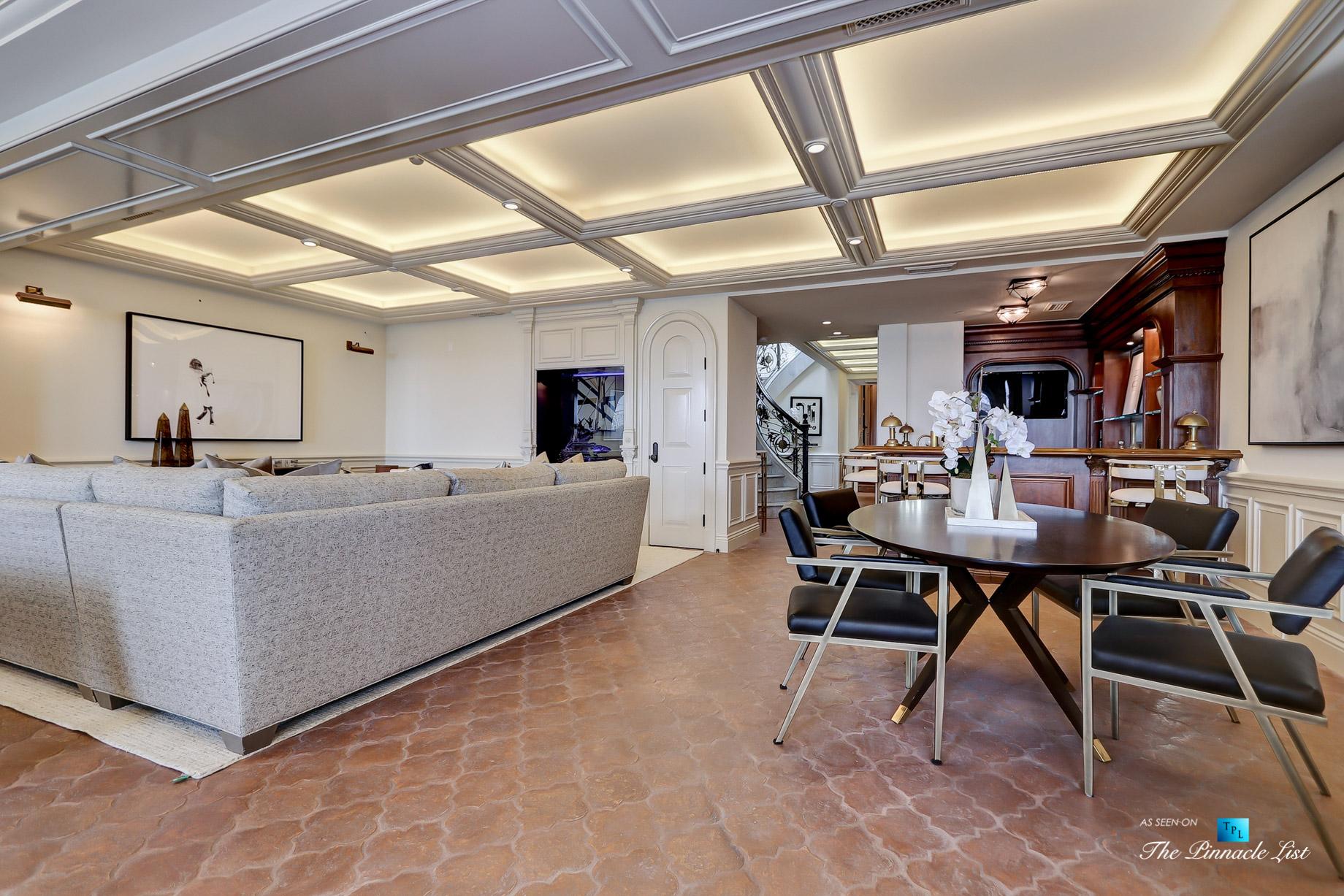 Luxury Real Estate - 2806 The Strand, Hermosa Beach, CA, USA - Gameroom
