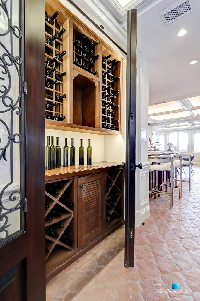 2806 The Strand, Hermosa Beach, CA, USA - Wine Closet - Luxury Real Estate - Oceanfront Home