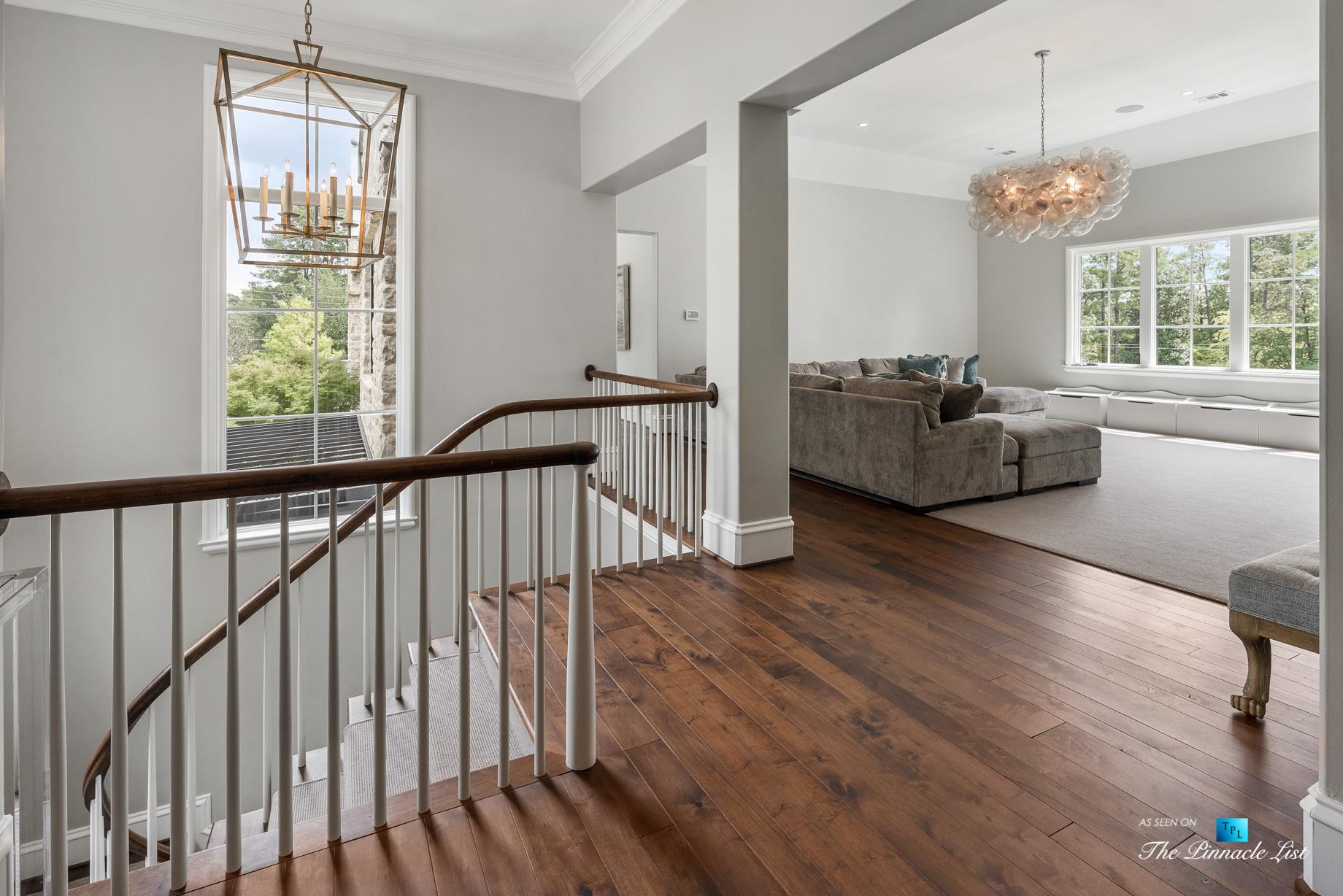 1150 W Garmon Rd, Atlanta, GA, USA – Stairs – Luxury Real Estate – Buckhead Estate Home