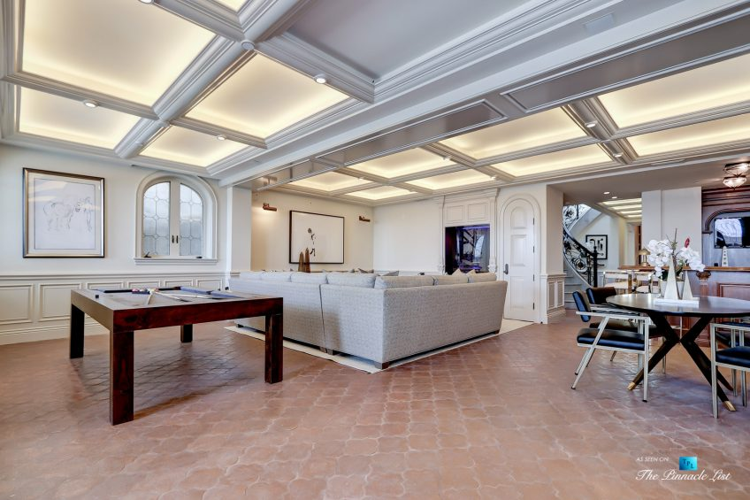 2806 The Strand, Hermosa Beach, CA, USA - Recreation Game Room - Luxury Real Estate - Oceanfront Home