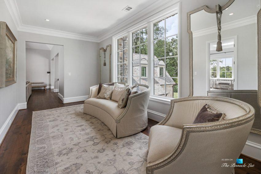1150 W Garmon Rd, Atlanta, GA, USA - Hallway Seating - Luxury Real Estate - Buckhead Estate Home