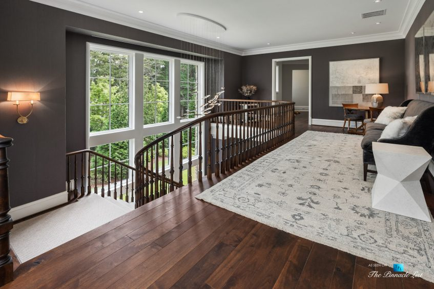 1150 W Garmon Rd, Atlanta, GA, USA - Top of Main Stairs - Luxury Real Estate - Buckhead Estate Home