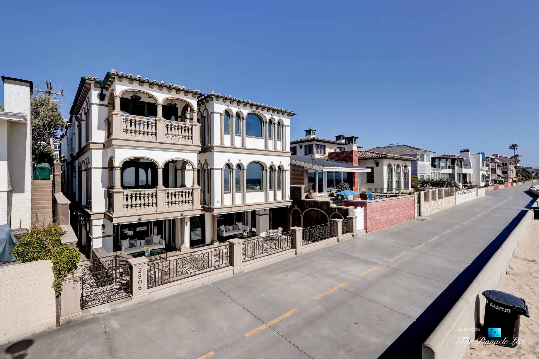 2806 The Strand, Hermosa Beach, CA, USA – Beachfront House – Luxury Real Estate – Oceanfront Home