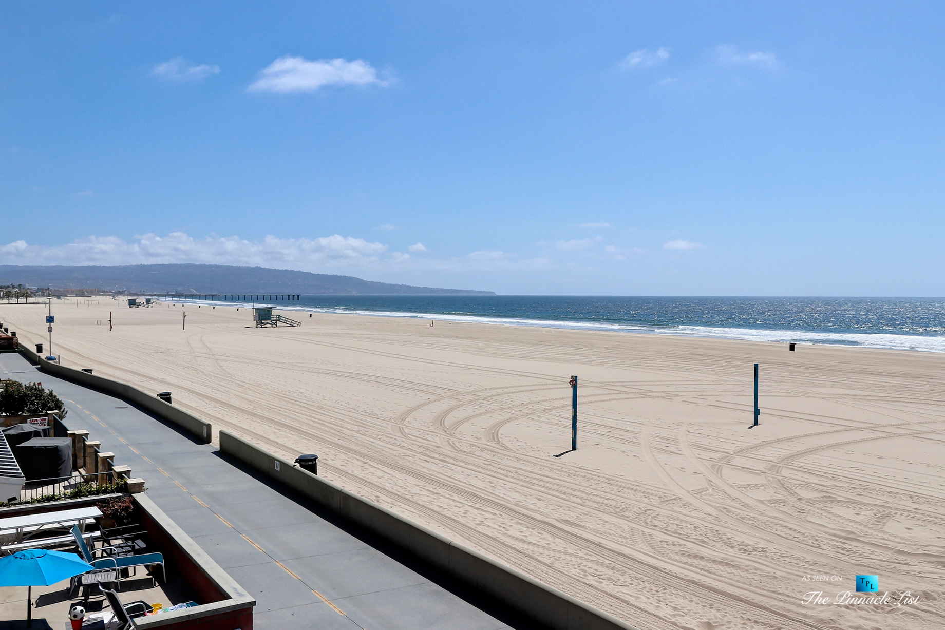 Luxury Real Estate - 2806 The Strand, Hermosa Beach, CA, USA - Front Strand Beach View