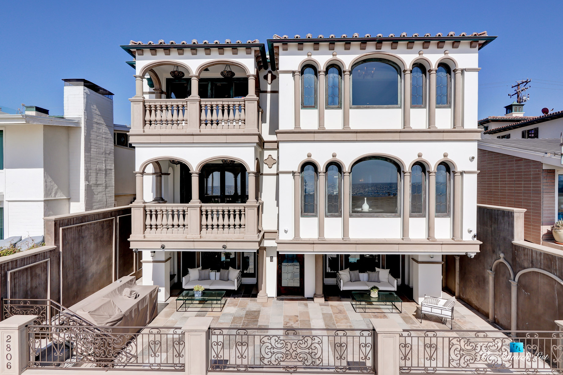 Luxury Real Estate - 2806 The Strand, Hermosa Beach, CA, USA - Front Exterior