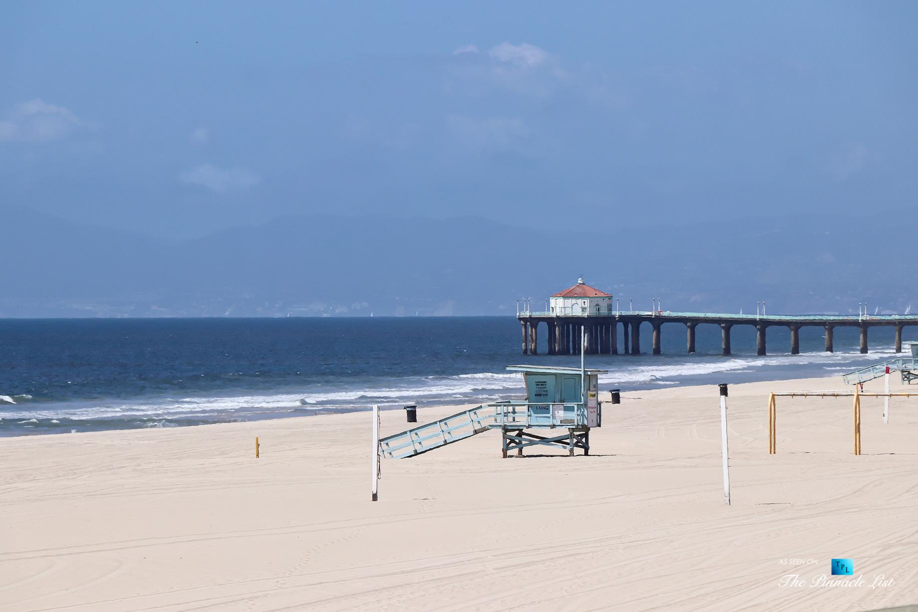 Luxury Real Estate - 2806 The Strand, Hermosa Beach, CA, USA - Beach View