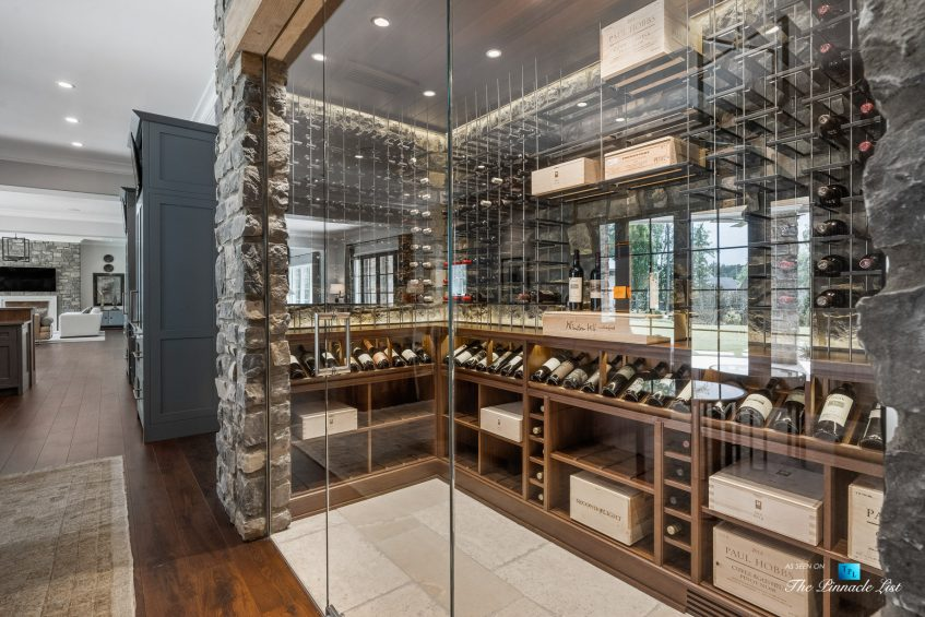 1150 W Garmon Rd, Atlanta, GA, USA - Luxurious Wine Room - Luxury Real Estate - Buckhead Estate Home