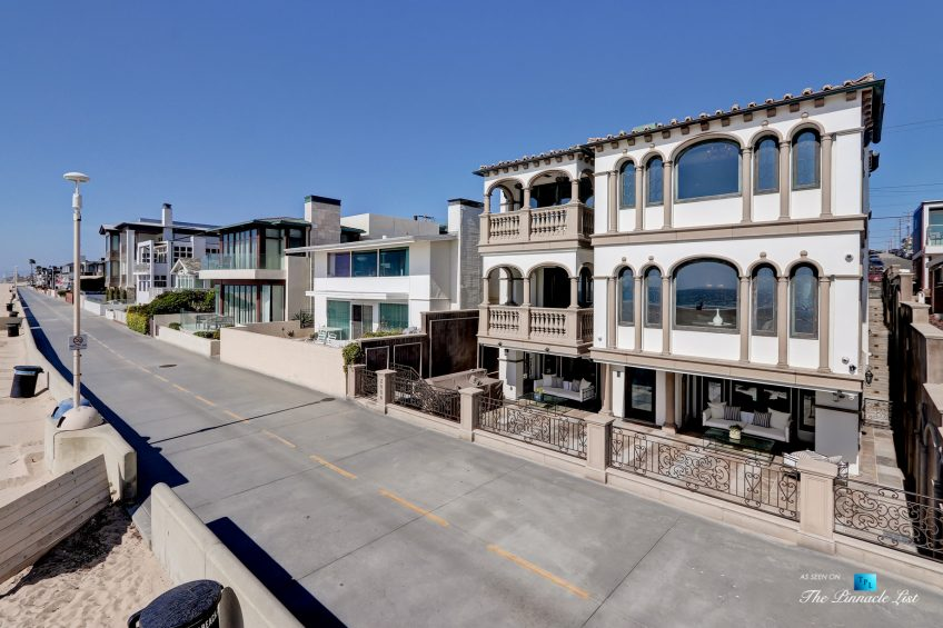 2806 The Strand, Hermosa Beach, CA, USA - Exterior House Front - Luxury Real Estate - Oceanfront Home