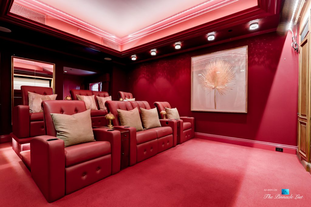 2806 The Strand, Hermosa Beach, CA, USA - Theatre Room - Luxury Real Estate - Oceanfront Home