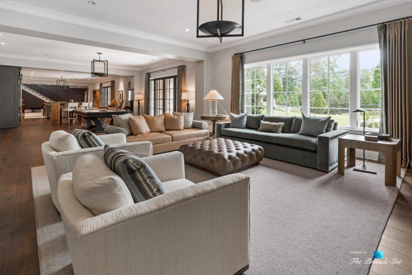 1150 W Garmon Rd, Atlanta, GA, USA - Recreation Room - Luxury Real Estate - Buckhead Estate Home