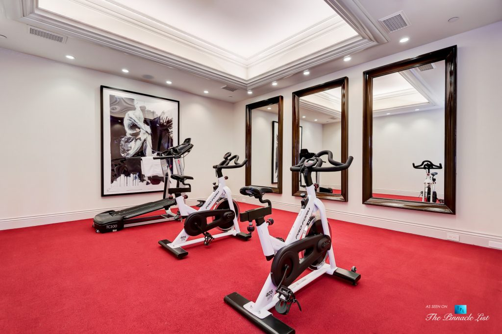 2806 The Strand, Hermosa Beach, CA, USA - Private Gym - Luxury Real Estate - Oceanfront Home