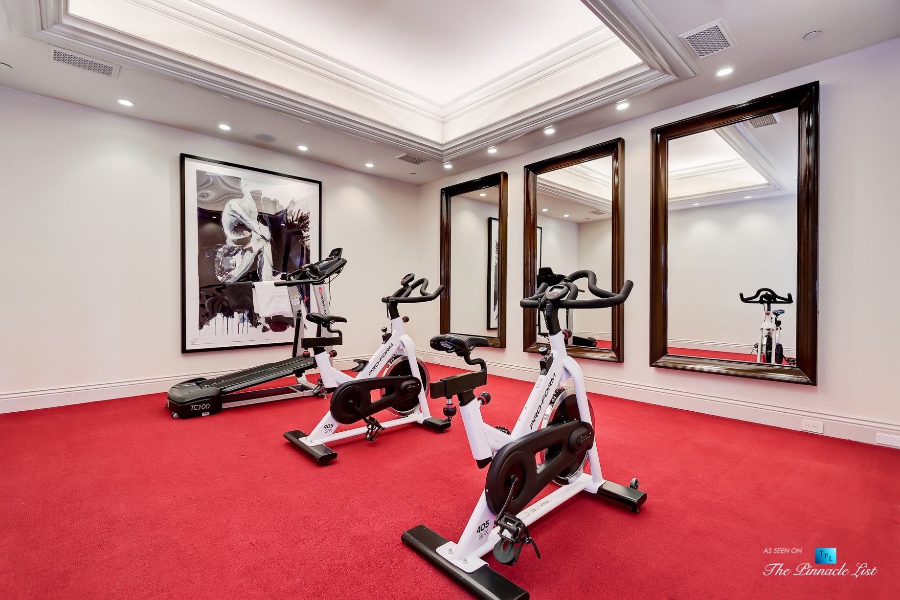 Luxury Real Estate - 2806 The Strand, Hermosa Beach, CA, USA - Gym