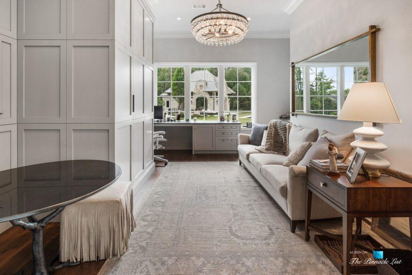 1150 W Garmon Rd, Atlanta, GA, USA - Private Office - Luxury Real Estate - Buckhead Estate Home