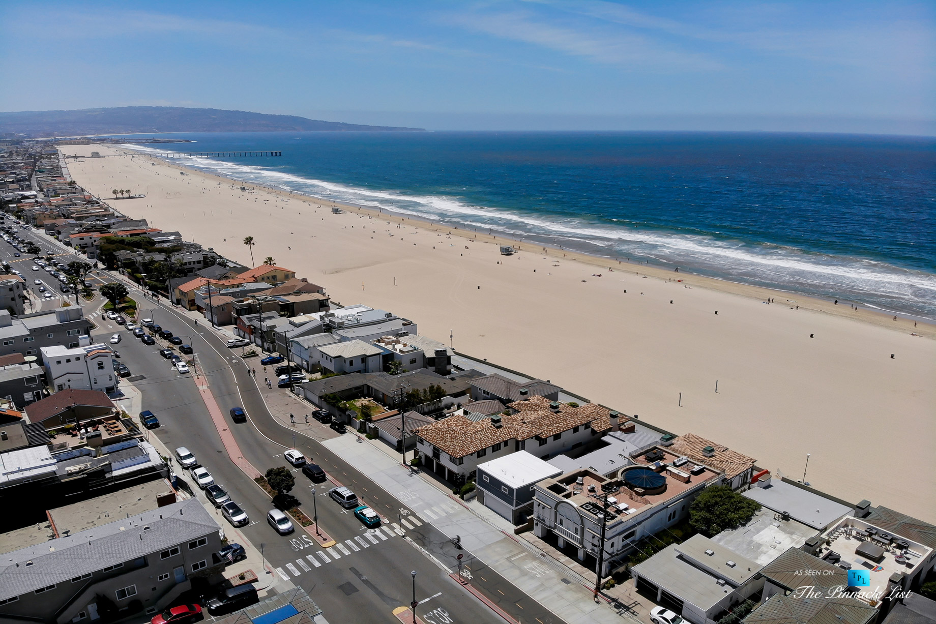 Luxury Real Estate - 2806 The Strand, Hermosa Beach, CA, USA - Aerial South