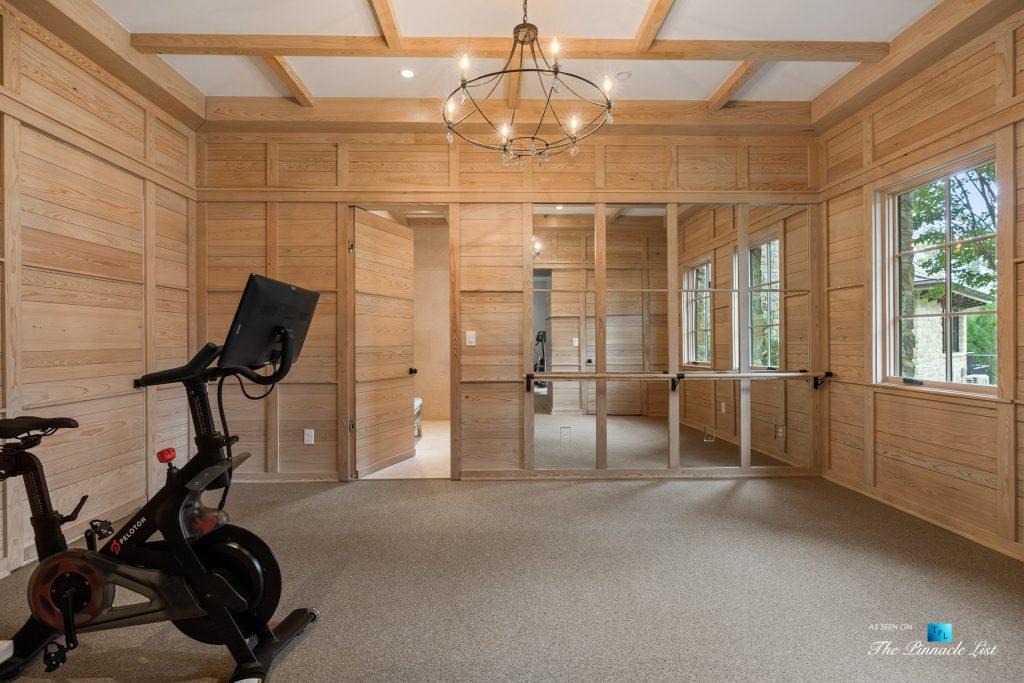 1150 W Garmon Rd, Atlanta, GA, USA - Private Gym - Luxury Real Estate - Buckhead Estate Home