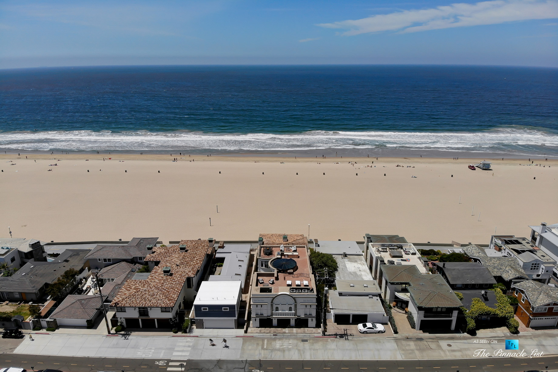 Luxury Real Estate - 2806 The Strand, Hermosa Beach, CA, USA - Aerial Ocean View