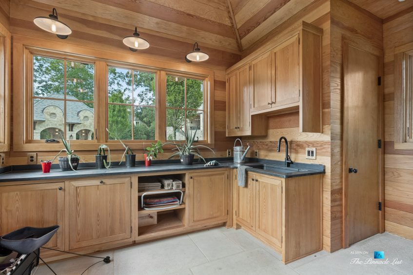 1150 W Garmon Rd, Atlanta, GA, USA - Garden Shed - Luxury Real Estate - Buckhead Estate Home