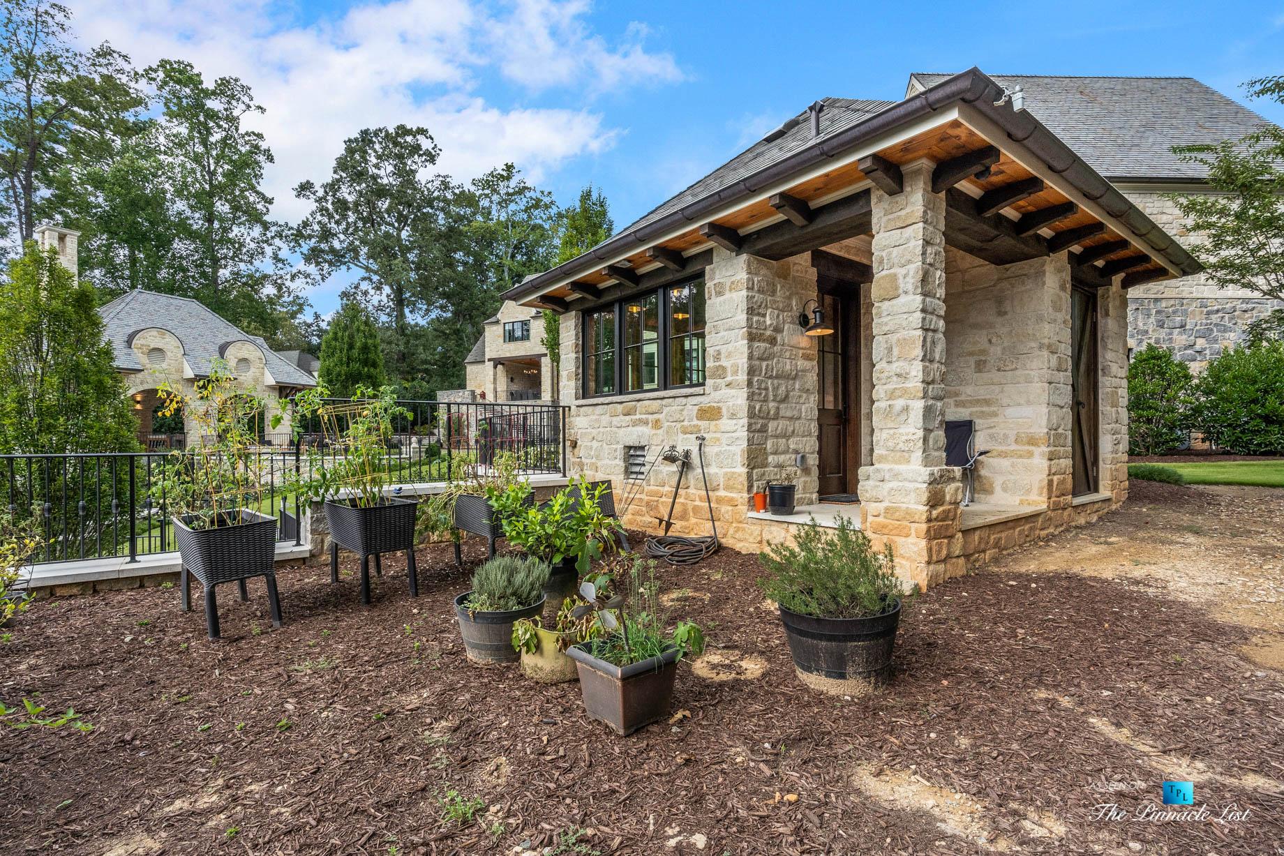 1150 W Garmon Rd, Atlanta, GA, USA – Luxury Garden Shed – Luxury Real Estate – Buckhead Estate Home