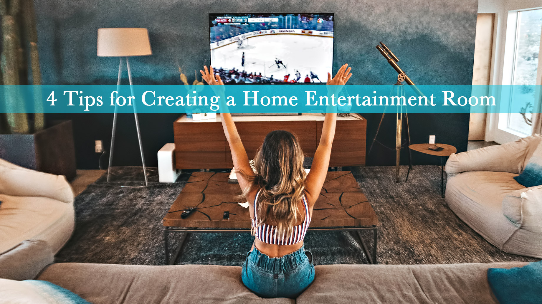 4 Tips for Creating a Home Entertainment Room