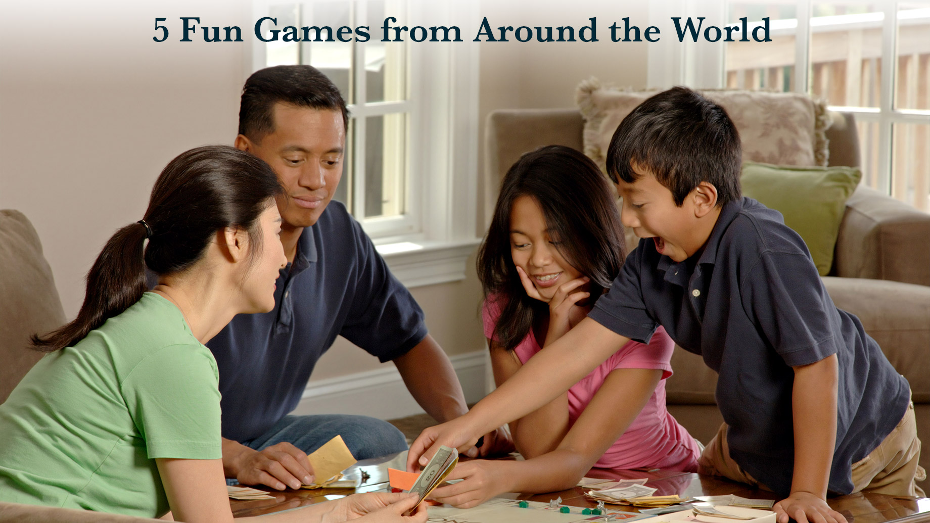5 Fun Games from Around the World