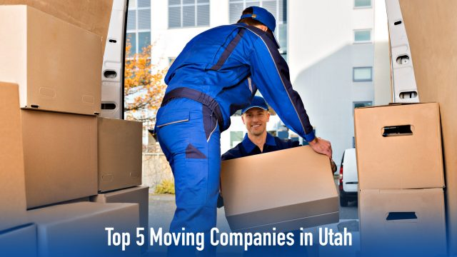 Top 5 Moving Companies in Utah