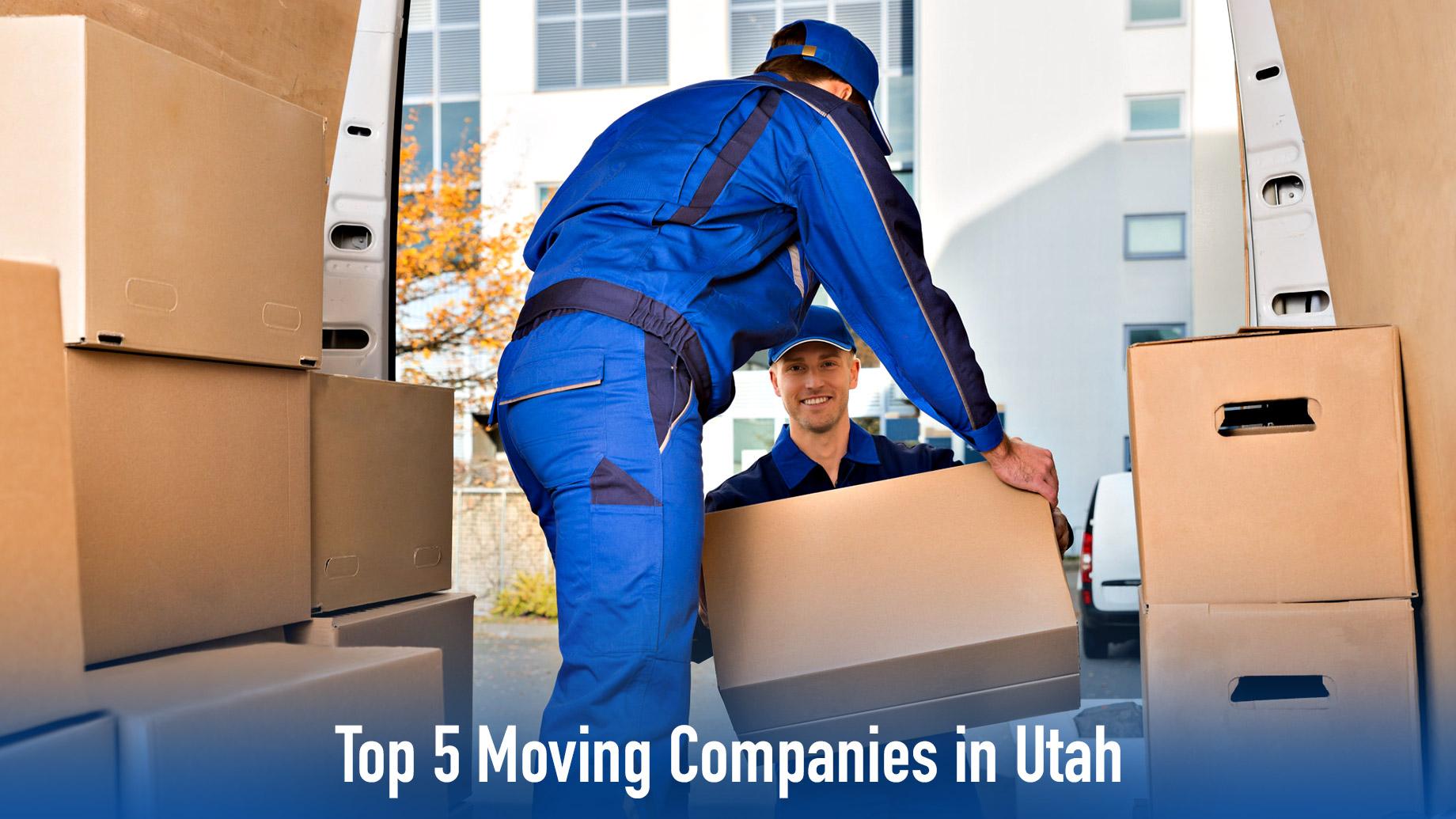 Top 5 Moving Companies in Utah