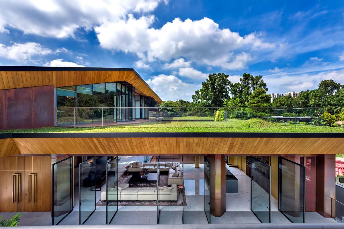 Hidden House Luxury Estate – Ridout Road, Singapore