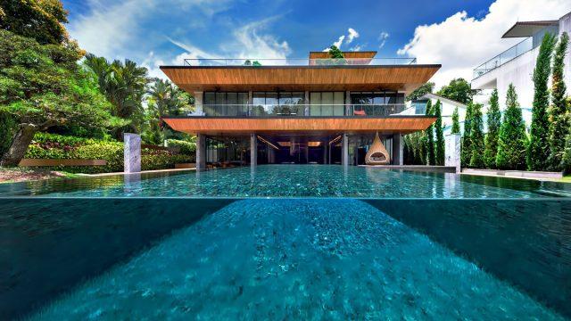 Hidden House Luxury Estate - Ridout Road, Singapore