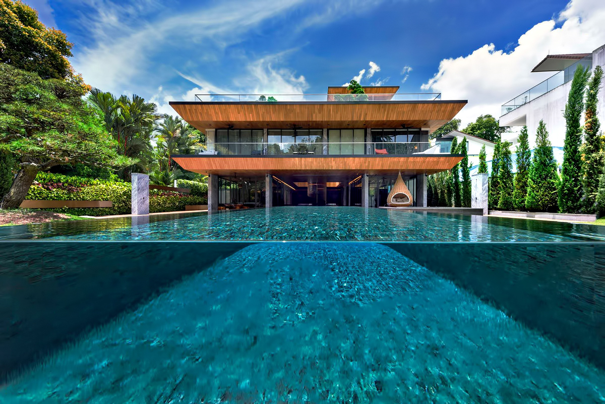 Hidden House Luxury Estate - Ridout Road, Singapore
