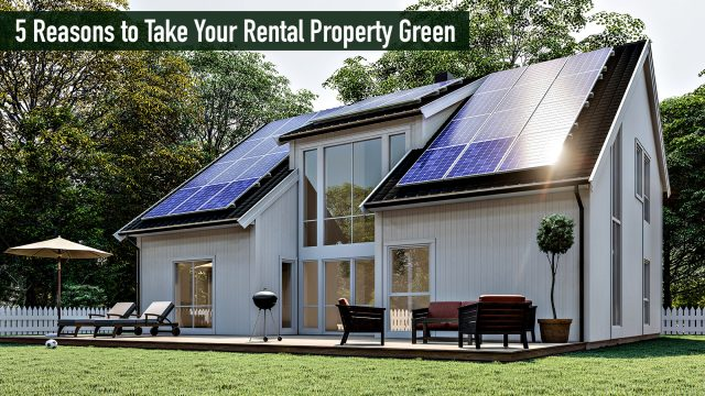 5 Reasons to Take Your Rental Property Green