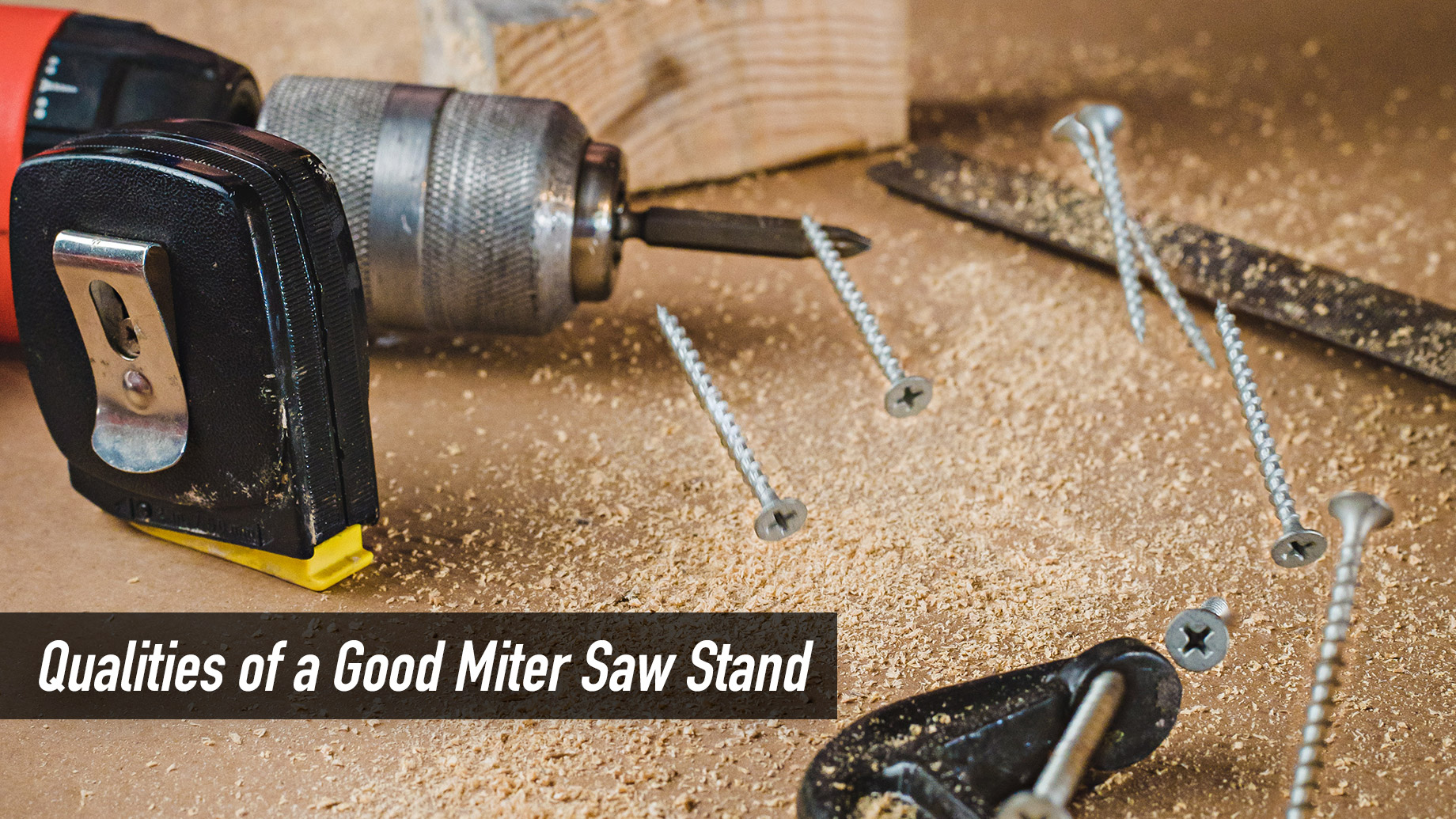 Qualities of a Good Miter Saw Stand