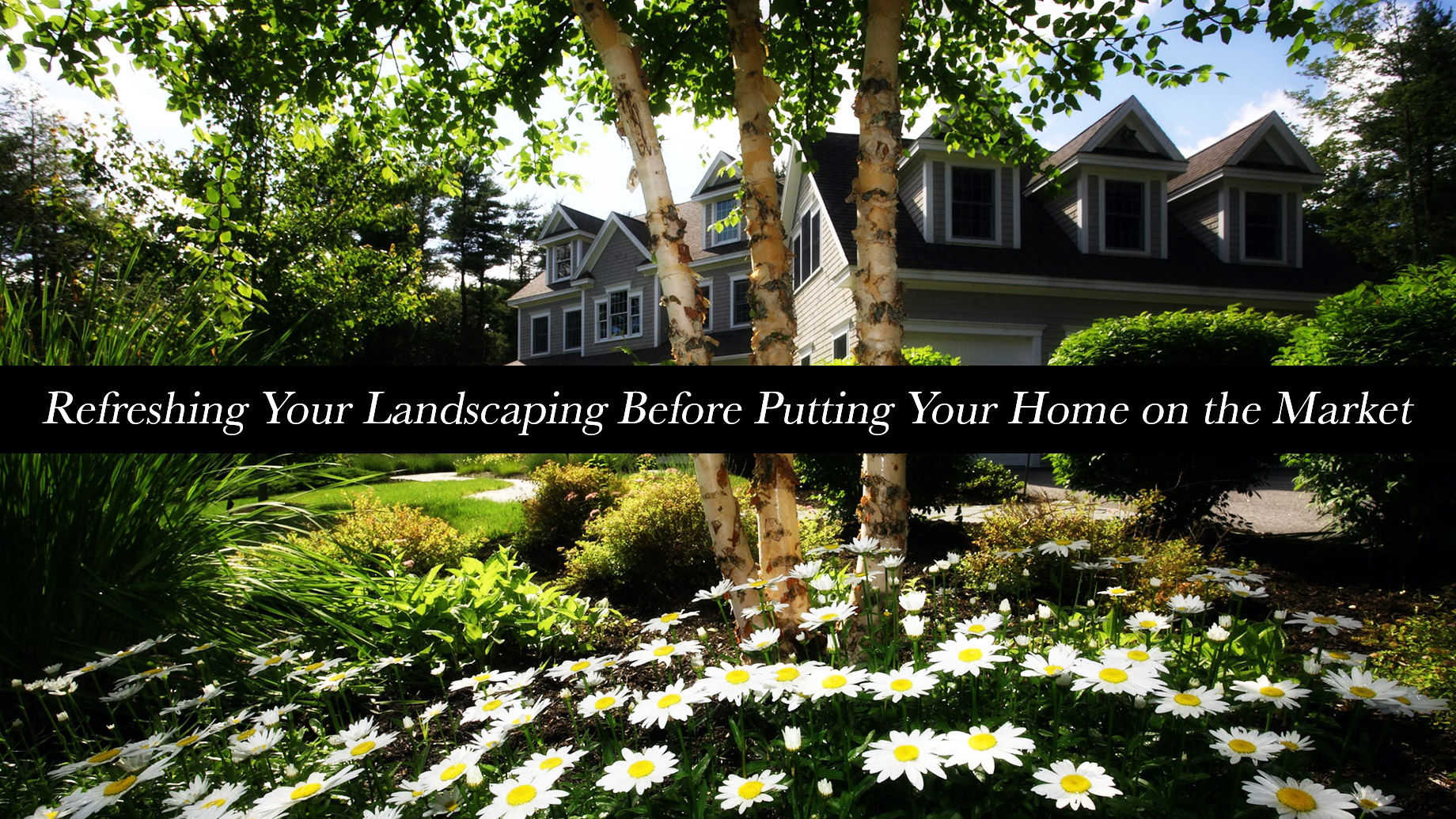 Refreshing Your Landscaping Before Putting Your Home on the Market