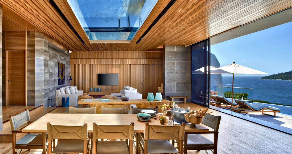 Four Bedroom Luxury Residence - Felicite Island, Seychelles - Living Room