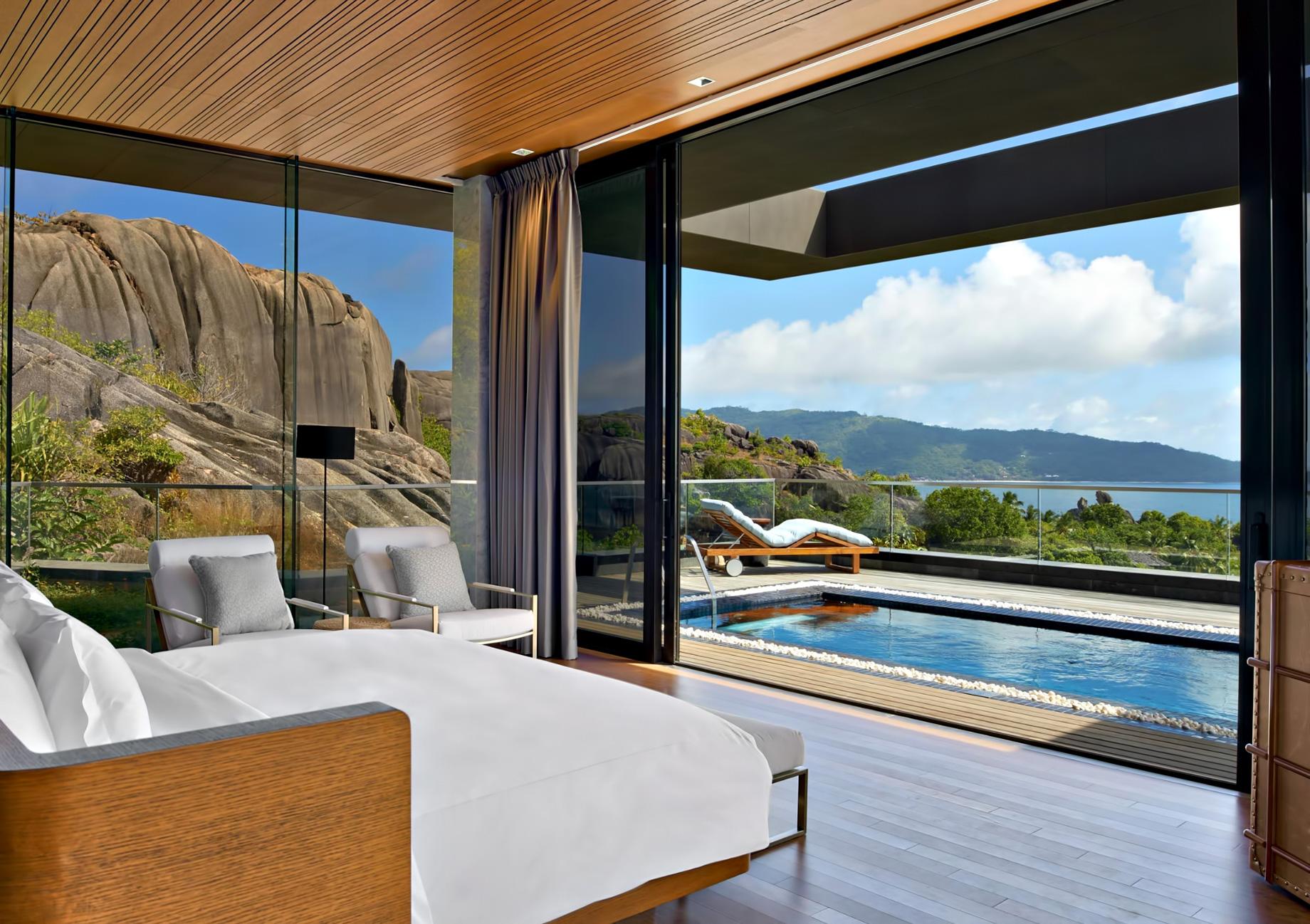 Three Bedroom Luxury Residence – Felicite Island, Seychelles – Master Bedroom