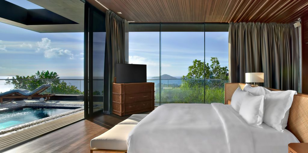 Three Bedroom Luxury Residence - Felicite Island, Seychelles - Master Bedroom