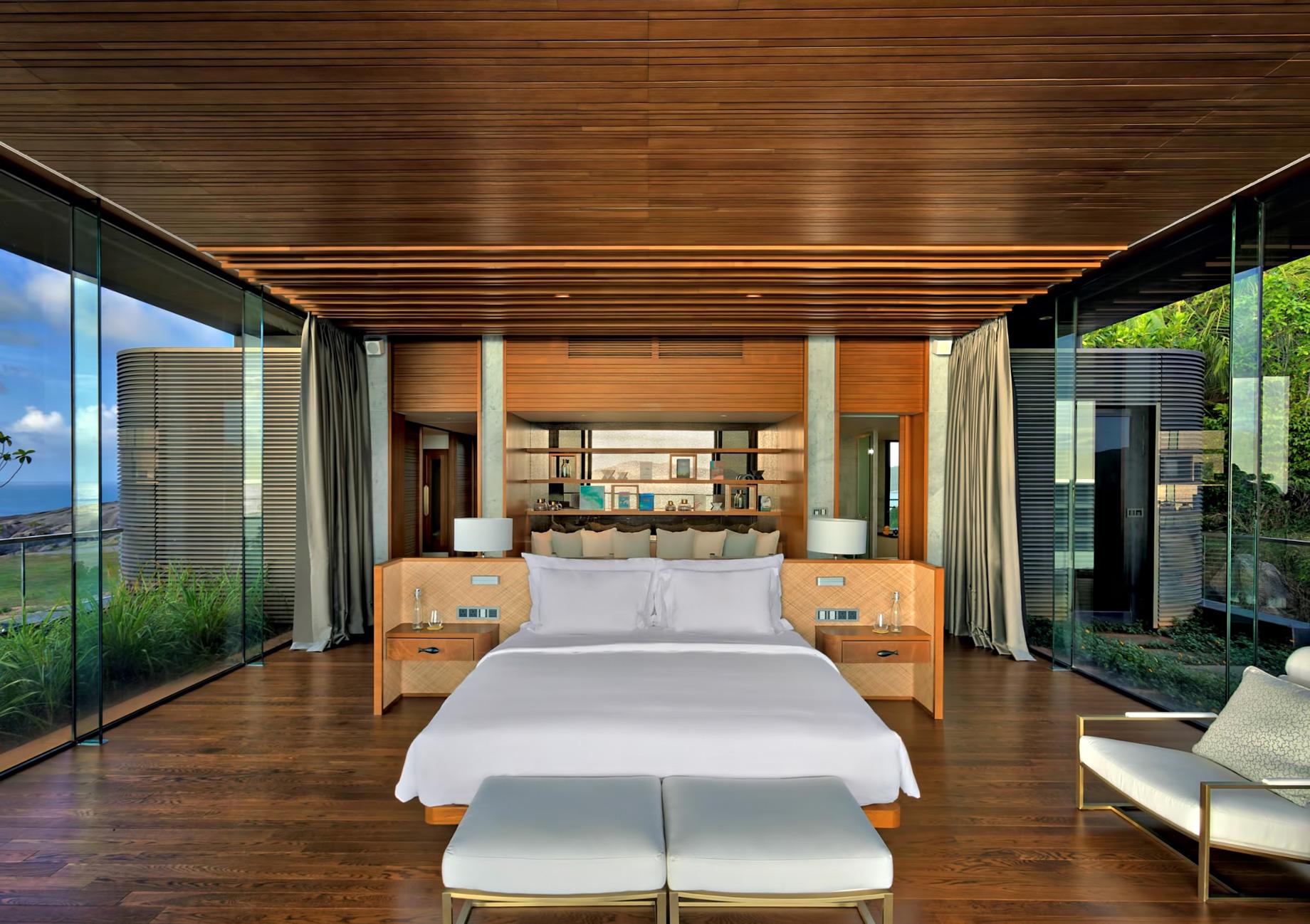 Three Bedroom Luxury Residence - Felicite Island, Seychelles - Master Bedroom