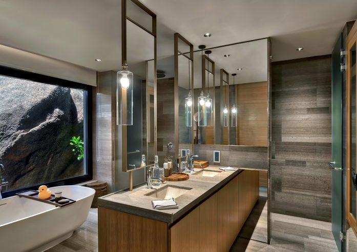 Four Bedroom Luxury Residence - Felicite Island, Seychelles - Bathroom