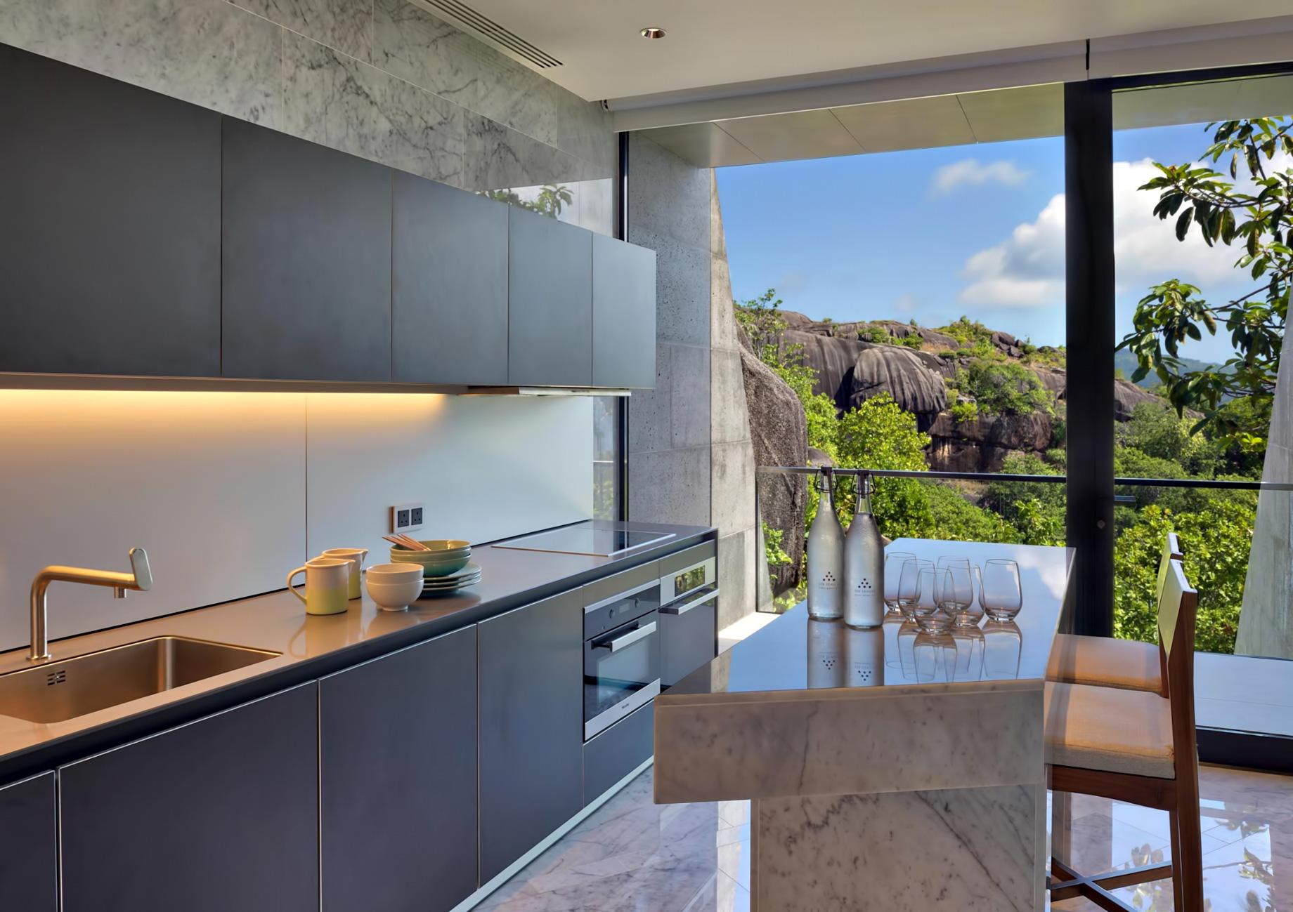 Three Bedroom Luxury Residence – Felicite Island, Seychelles – Kitchen