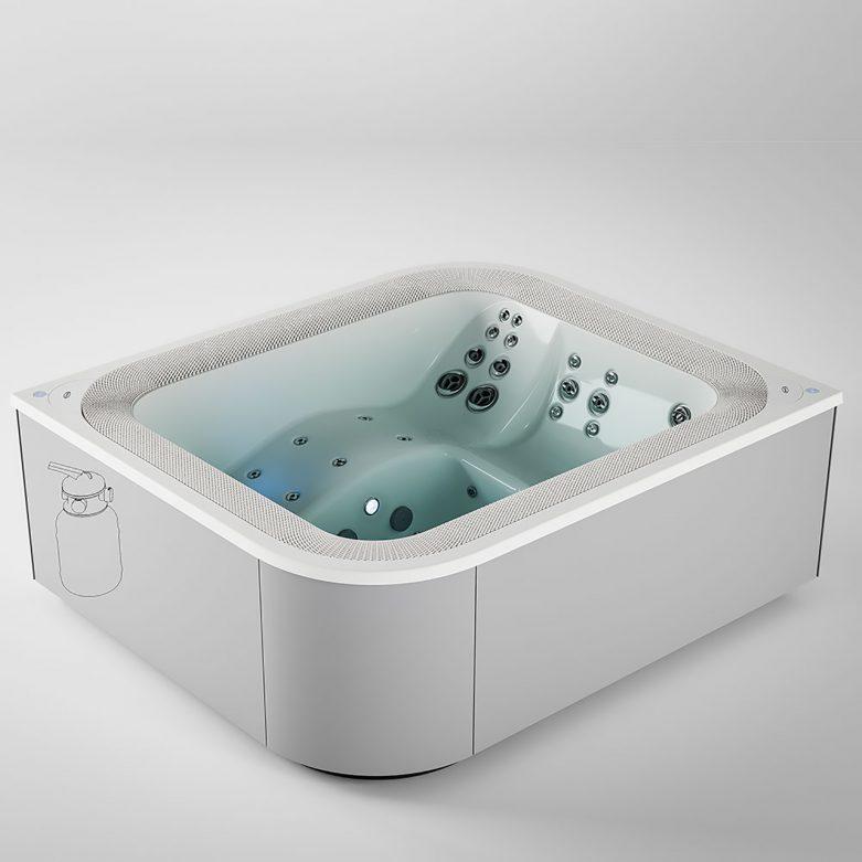 VIRTUS the Ultimate Hot Tub Hydromassage Spa Jacuzzi - Dodo Arslan