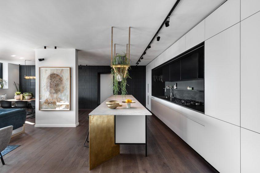 Chic Apartment Interior Design Tel Aviv, Israel - Aviram Kushmirski