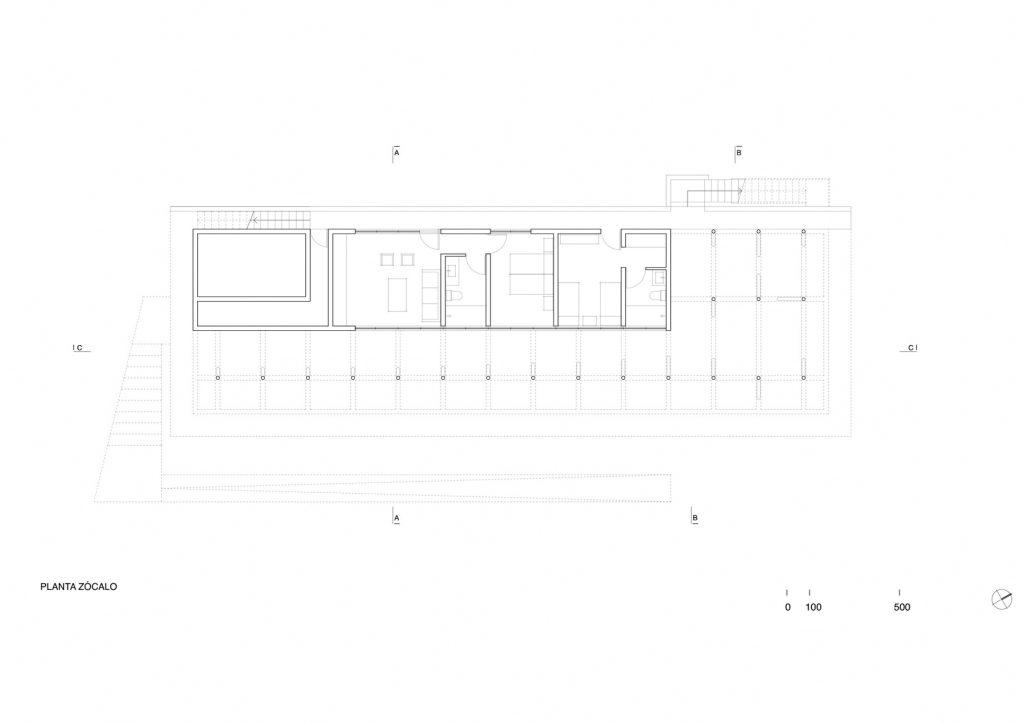 Floor Plans - Casa Manns Luxury Residence - Zapallar, Chile