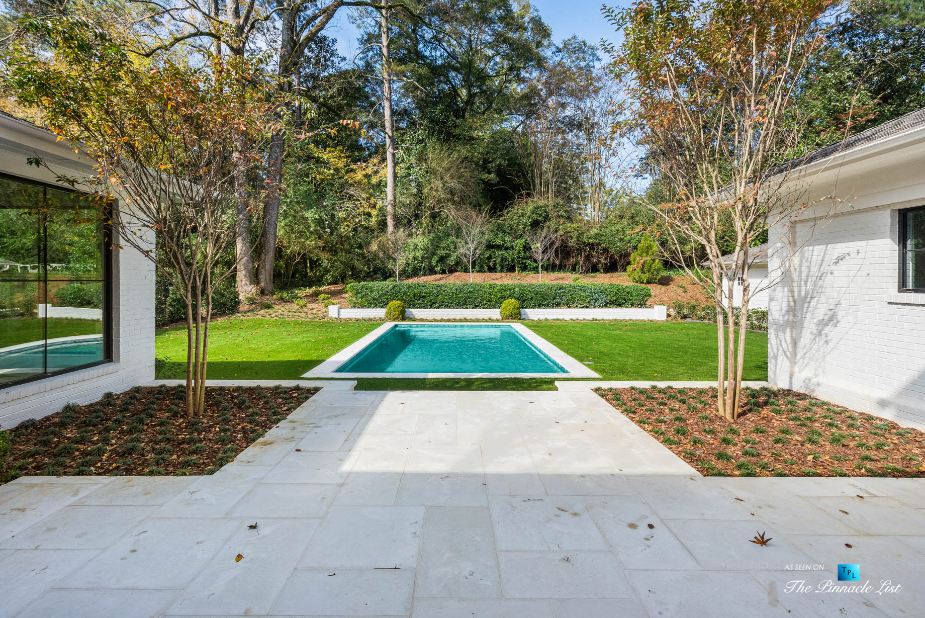 447 Valley Rd NW, Atlanta, GA, USA – Back Yard Pool – Luxury Real Estate – Tuxedo Park Home