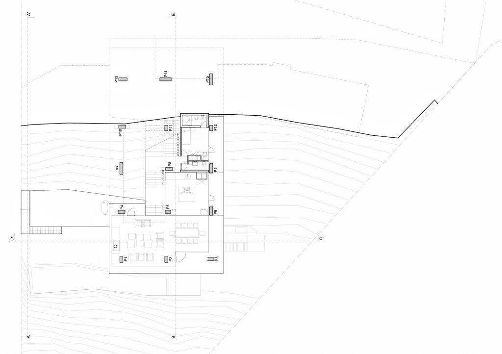 Floor Plans - Ghat Luxury Beach House - Zapallar, Chile
