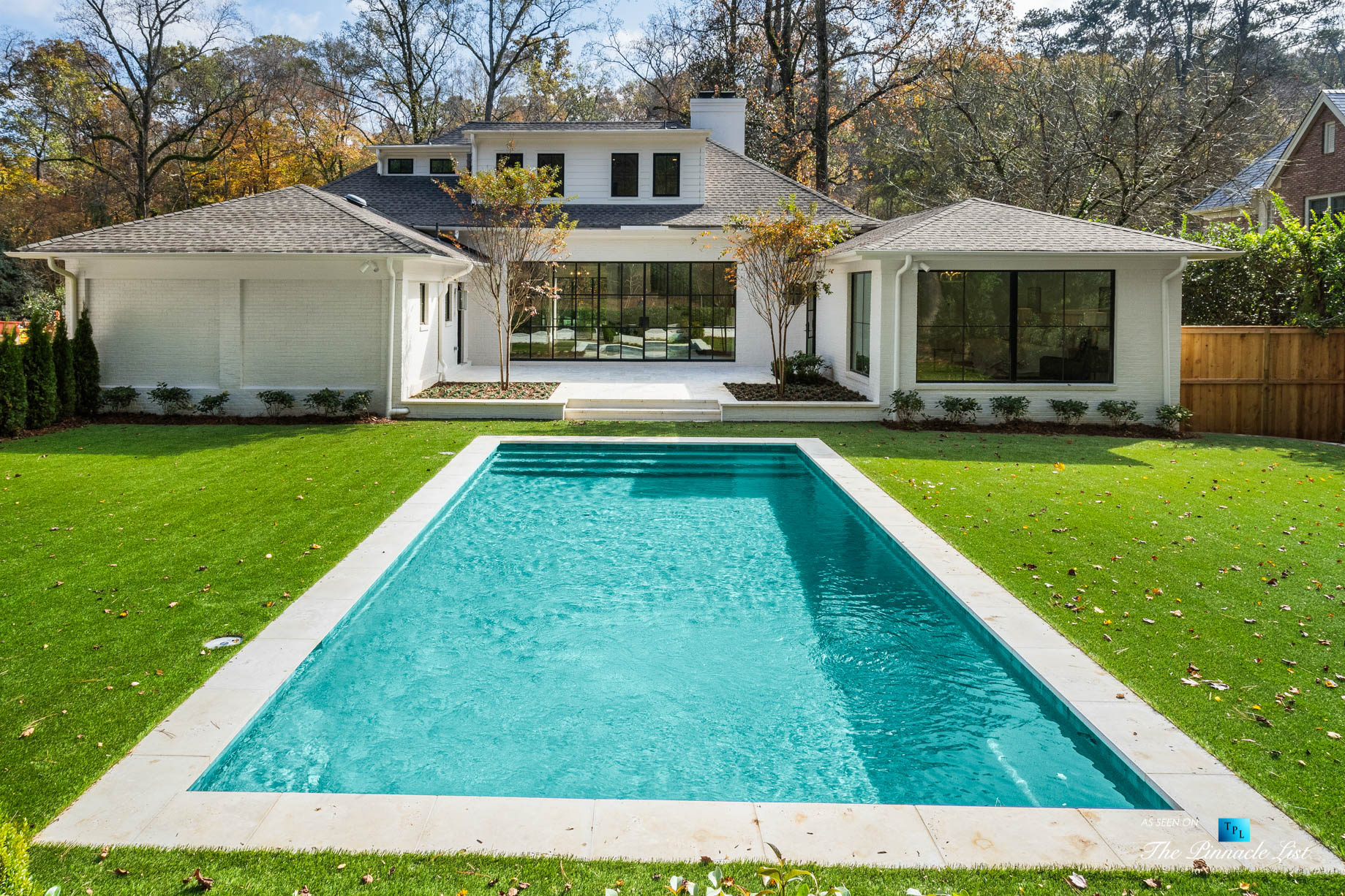 447 Valley Rd NW, Atlanta, GA, USA - Back Yard Pool - Luxury Real Estate - Tuxedo Park Home