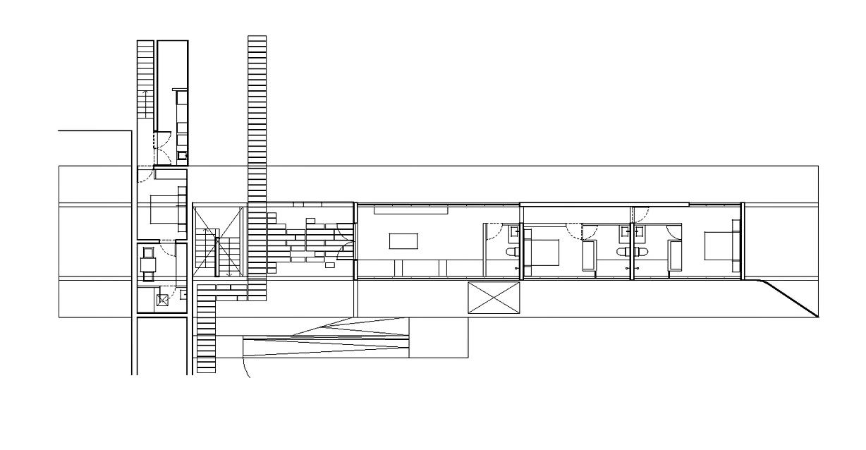 Floor Plans - House H Luxury Residence - Zapallar, Chile