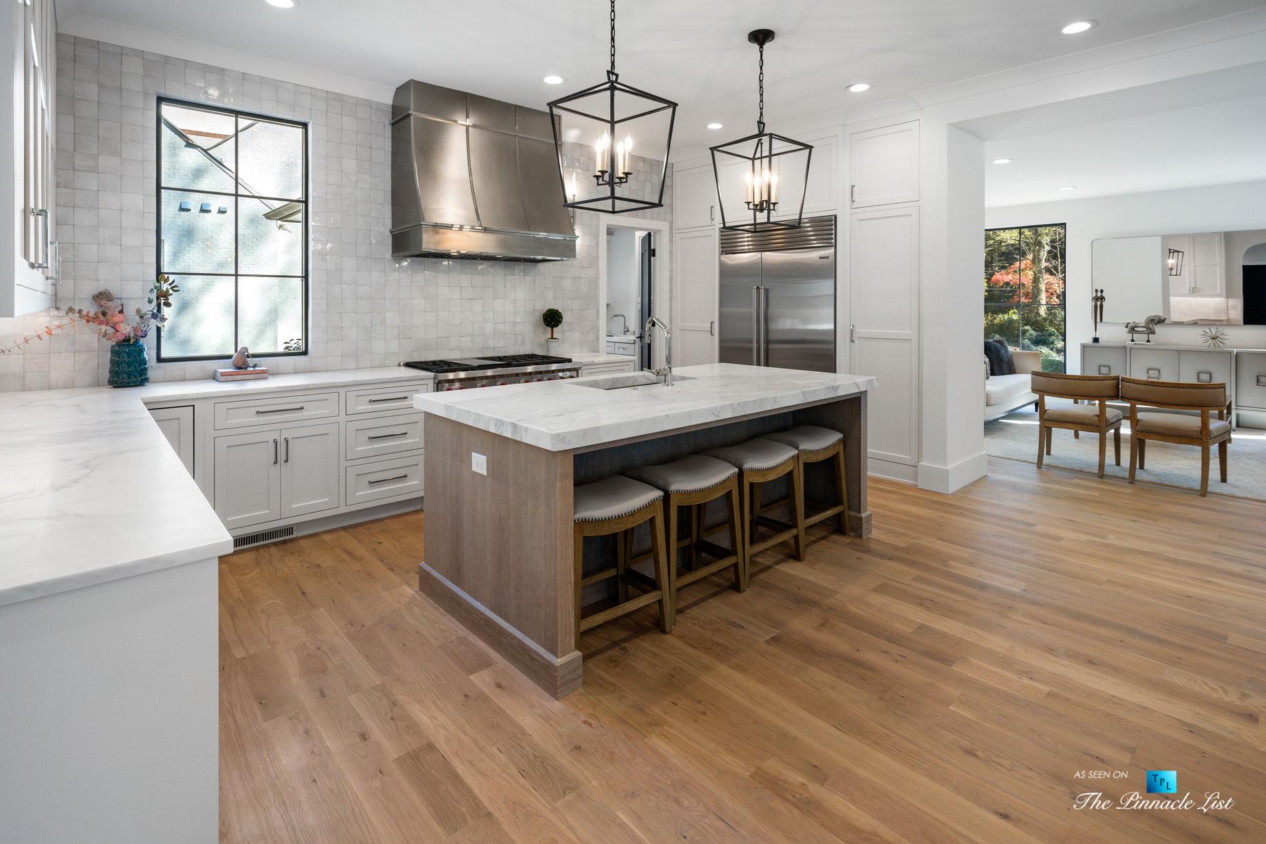 447 Valley Rd NW, Atlanta, GA, USA – Kitchen – Luxury Real Estate – Tuxedo Park Home