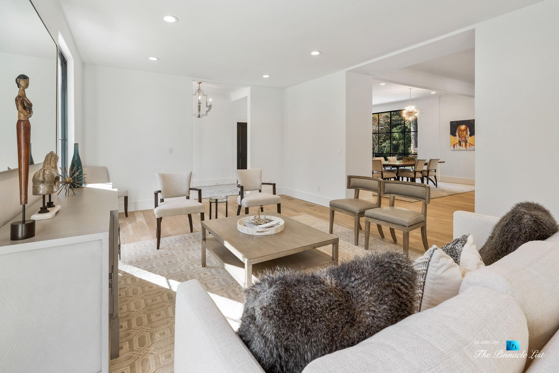 447 Valley Rd NW, Atlanta, GA, USA – Sitting Area – Luxury Real Estate – Tuxedo Park Home