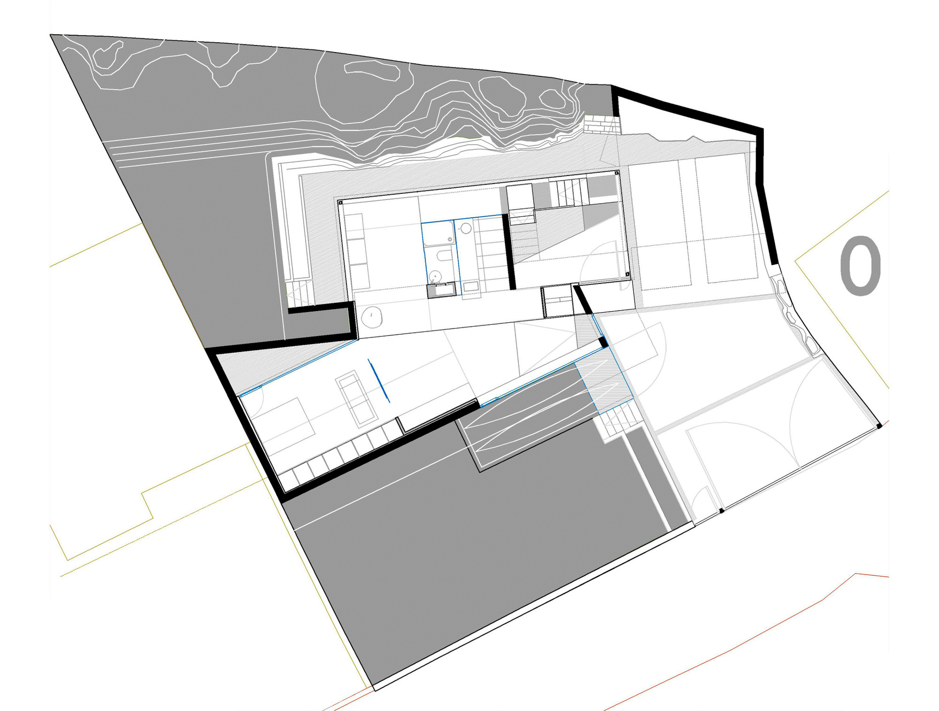 Floor Plans - Dezanove Luxury House Residence - Galicia, Spain