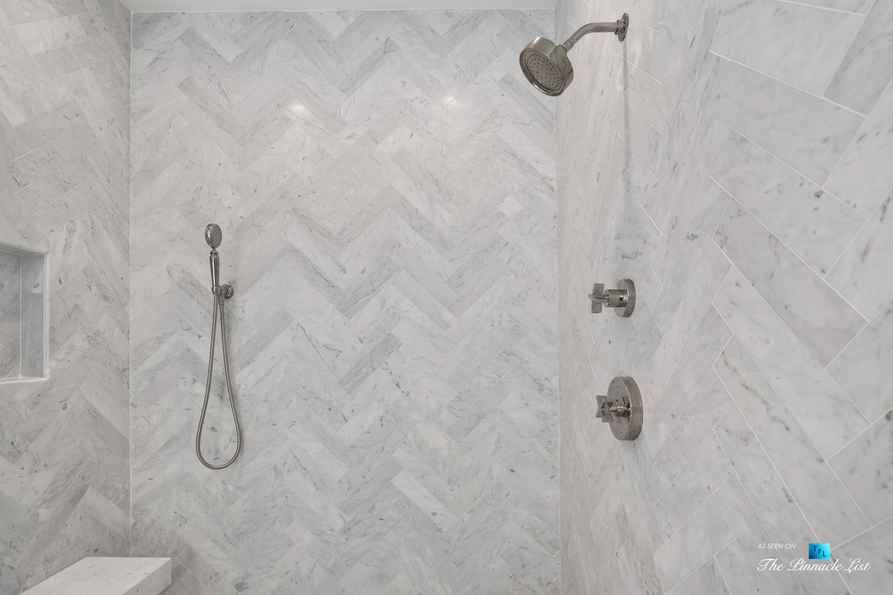 447 Valley Rd NW, Atlanta, GA, USA - Master Bathroom Shower - Luxury Real Estate - Tuxedo Park Home